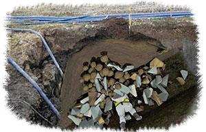土砂崩壊のイメージ