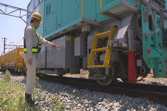 鉄道工事の安全